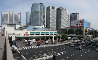 品川駅 ベイクレストタワー.JPG